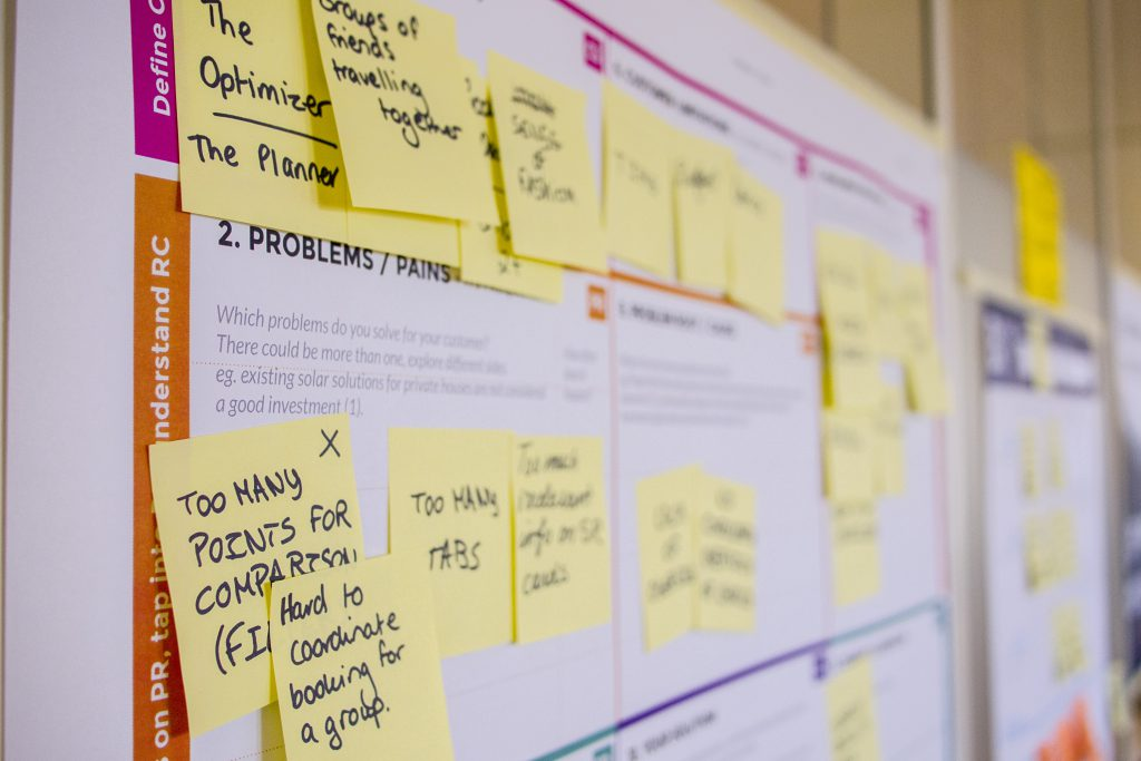 design thinking - creatif pour innover